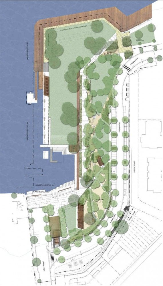 Pirrama Park Hill Thalis Architecture Aspect Studios Cab Consulting Landscape Plans Parking Design Site Plan
