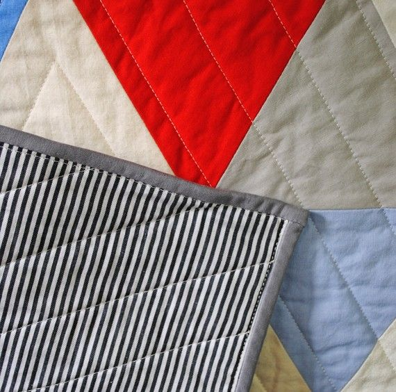 Carson Too | Equilateral Triangles Stroller Quilt