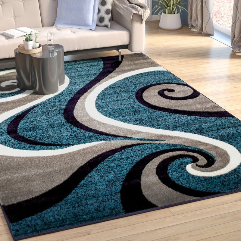 10+ Stunning Navy Blue Rugs For Living Room