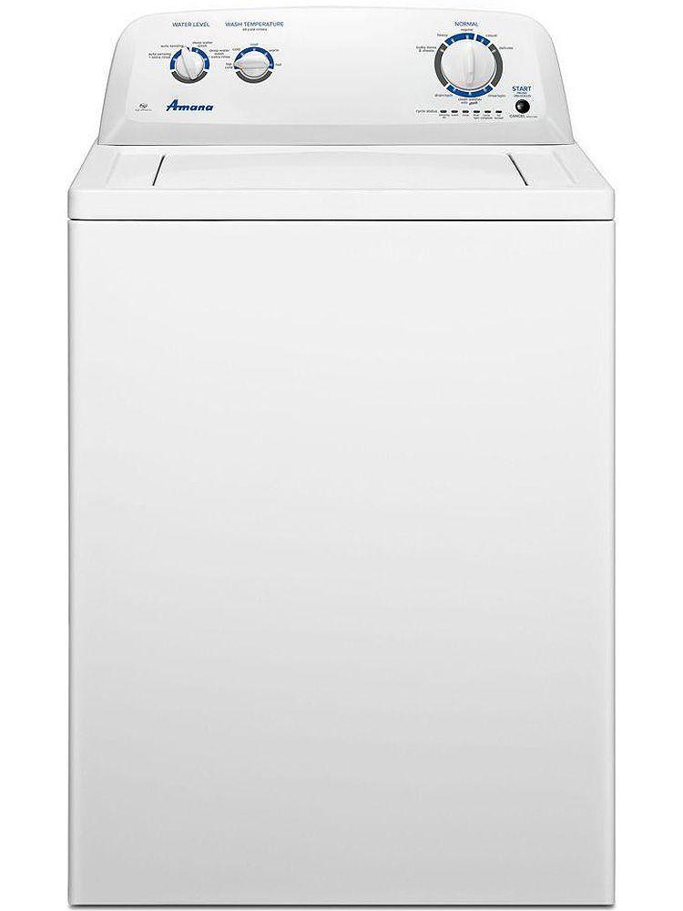Amana Washing Machine White 3 5 Cu Ft Top Loader In 2020