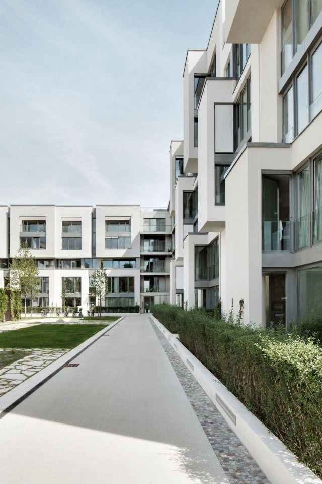 gr ntuch ernst architekten housing development berlin hic arquitectura architectural. Black Bedroom Furniture Sets. Home Design Ideas
