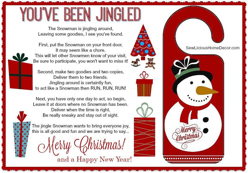 Youve Been Jingled Free Christmas Printable Free Christmas Games Free Christmas Printables Christmas Printables