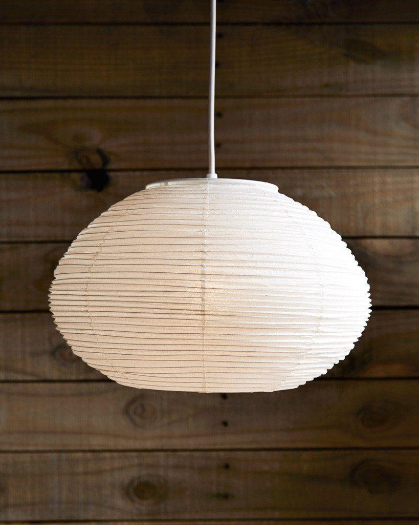 diffused lighting fixtures. Hayashi Kougei Washi Paper Pendant Lamp Shade - Half-Round Diffused Lighting Fixtures I
