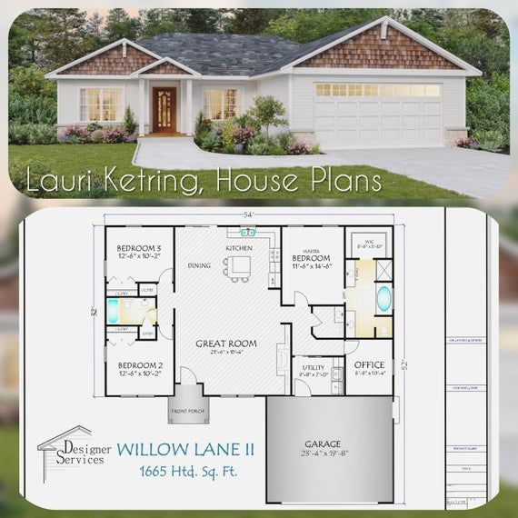 Photo of The Willow Lane II House Plan