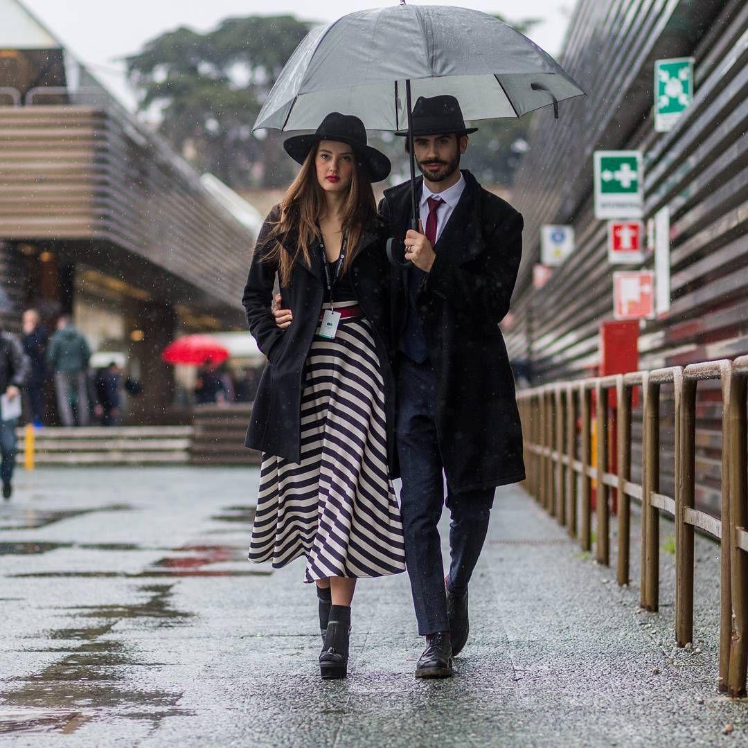 Under my umbrella, Florence, Italy