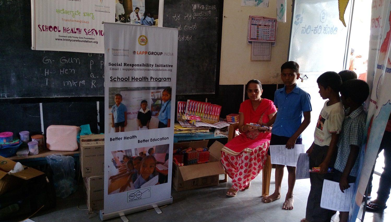 Trinity Care Foundation on Health programs, School