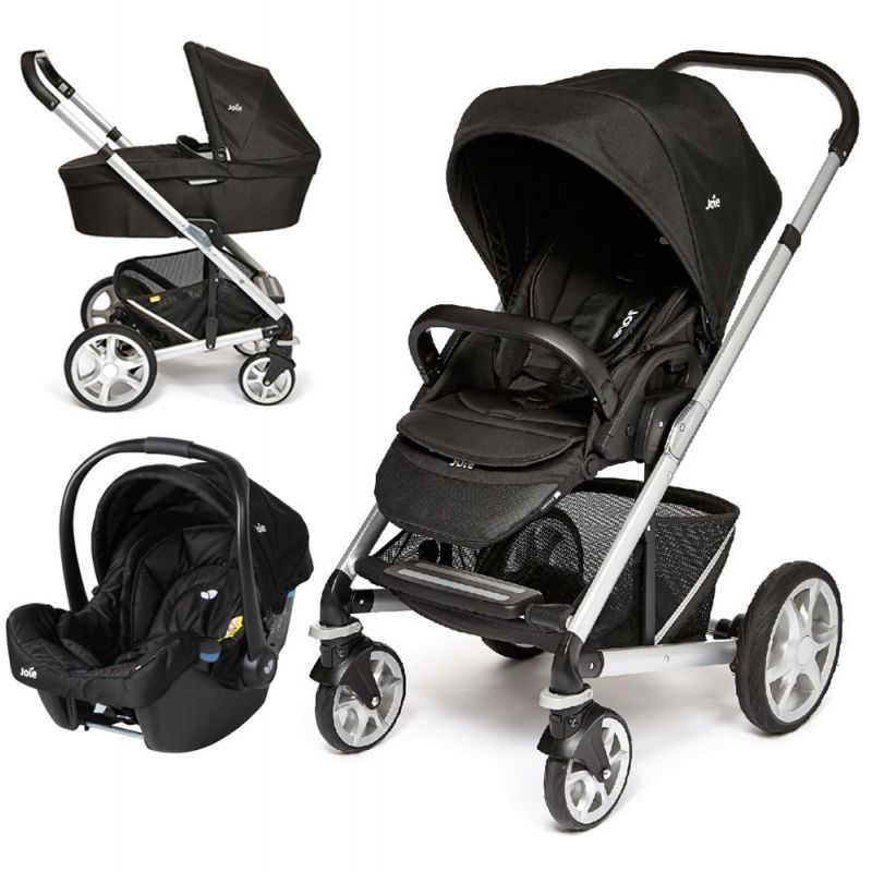 Twin Prams Travel Systems: Joie Chrome Plus 3in1 Travel System Available At Http