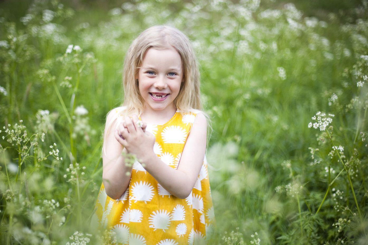 summer dress hedgehog
