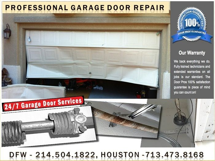 Roadrunner Garage Doors Services The Greater Houston And Dallas Areas With  Quick Service For Both Residential And Commercial Garage Door Repairs.