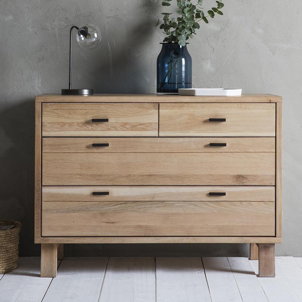 Kiefer Chest of Drawers in 2019 Oak sideboard, Modern
