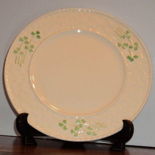 Celtic Classics 10 Inch Shamrock Dinner Plate Plates Dinner Plates Irish Gifts