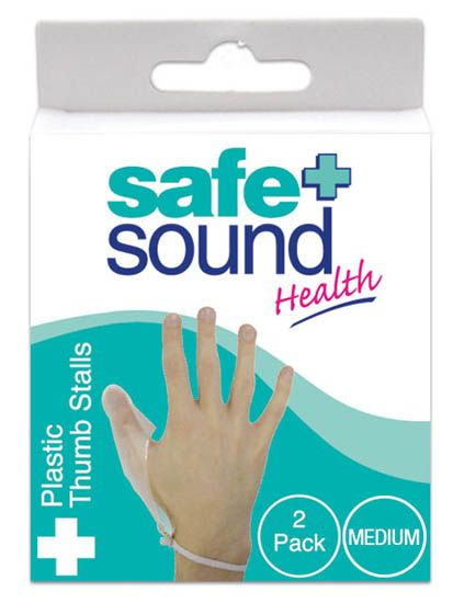 Safe and Sound Plastic Finger Stall Medium 2 pack Safe and Sound Plastic Finger Stall Medium 2 pack: Express Chemist offer fast delivery and friendly, reliable service. Buy Safe and Sound Plastic Finger Stall Medium 2 pack online from Express Chemist http://www.MightGet.com/january-2017-11/safe-and-sound-plastic-finger-stall-medium-2-pack.asp