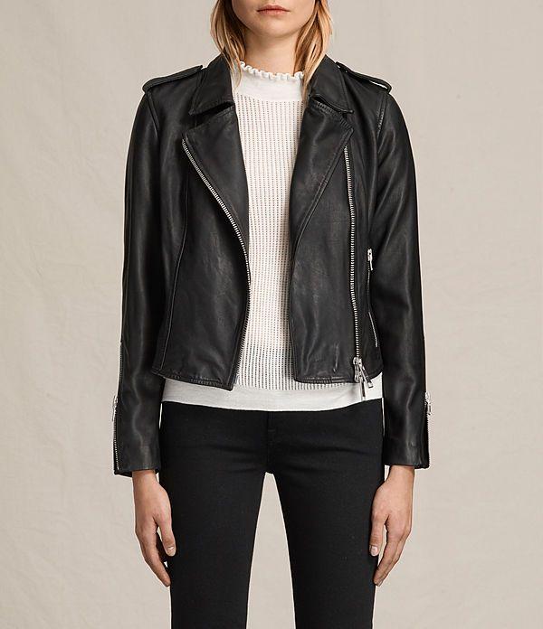 458884ffb4f48 Coniston Leather Biker Jacket