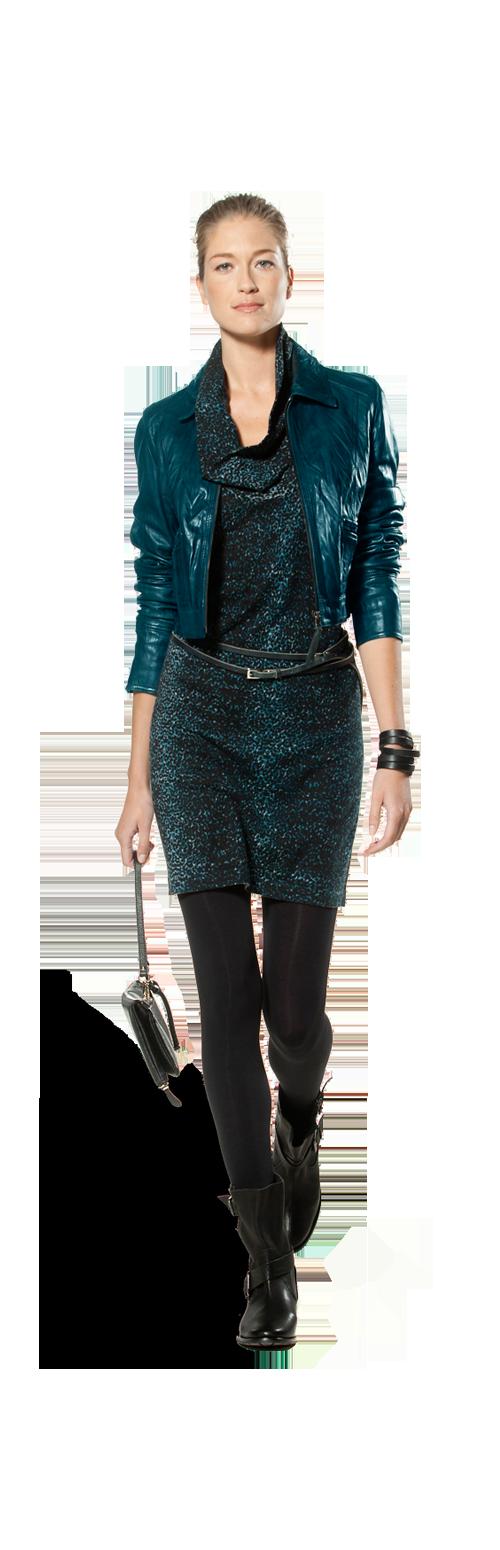 Kort jasje jurk