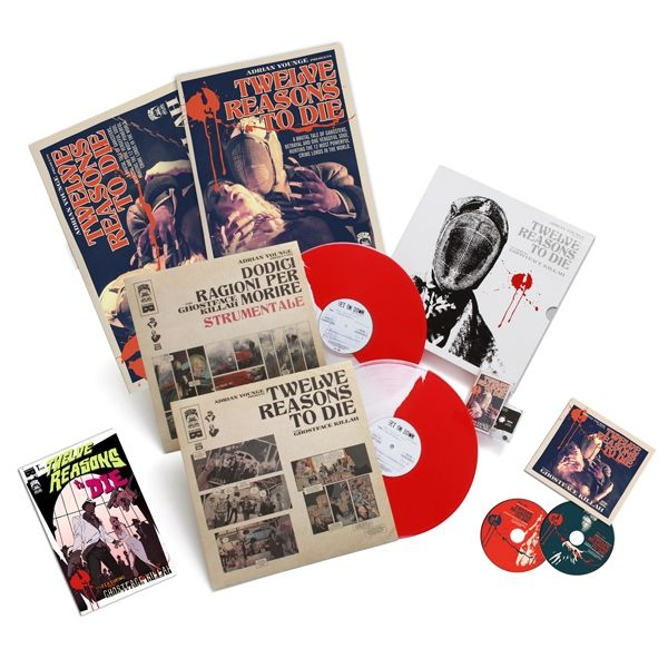 Ghostface Killah Adrian Younge 12 Reasons To Die Boxset The 12 Delucas Version W Ughh Exclusive Tee Only A Record Store Ghostface Killah Adrian Younge