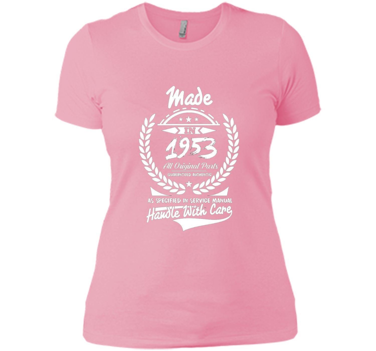 Made In 1953 63 Years Old 63rd Birthday Gift Idea Tee Shirt