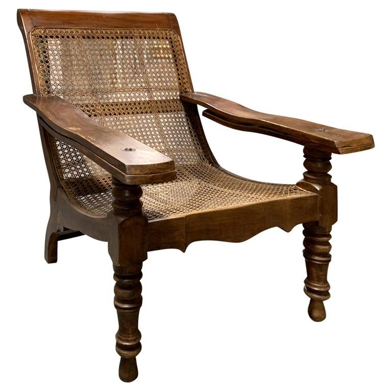 1stdibs Armchair 19th Early 20th Century Anglo Caribbean Caned Planters Leg Stretchers Cane Wood In 2020 Chair Furniture Home Decor