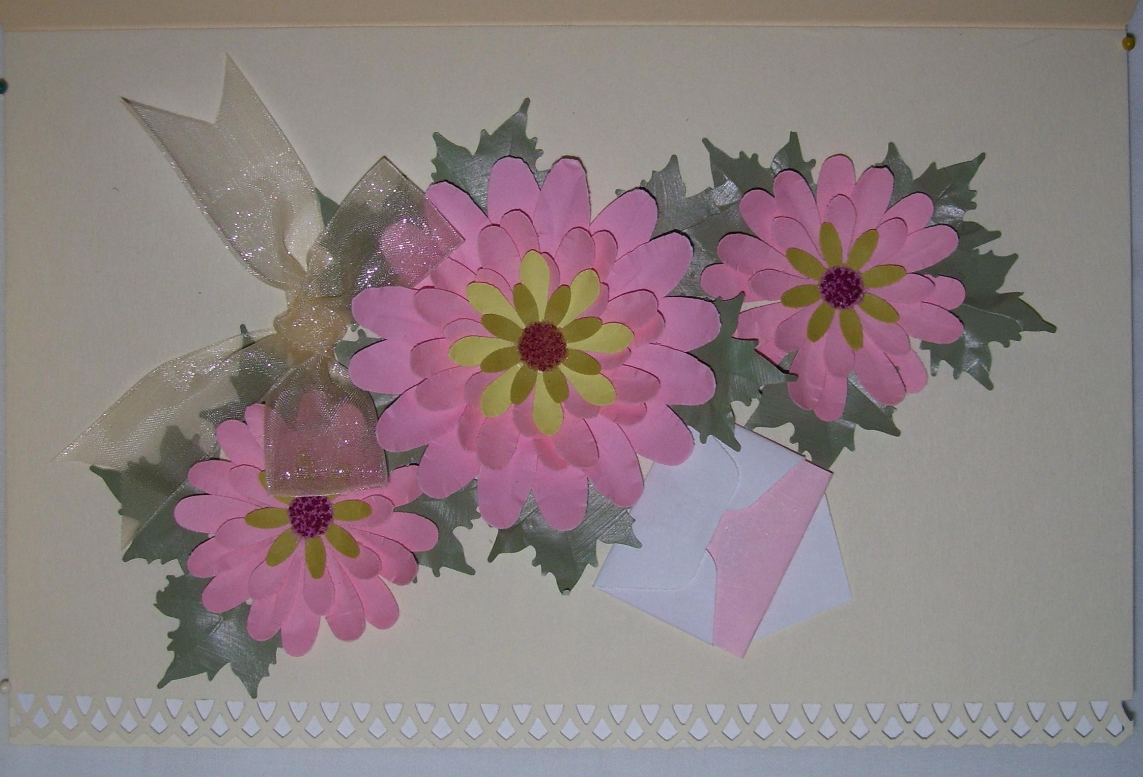 How To Make Uniquely Beautiful Floral Greeting Cards Handmade