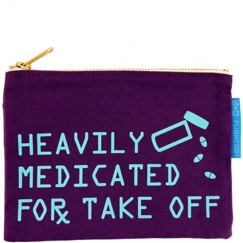 Heavily Medicated Pouch by Flight 001