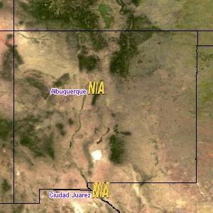 Map of Local Albuquerque Weather