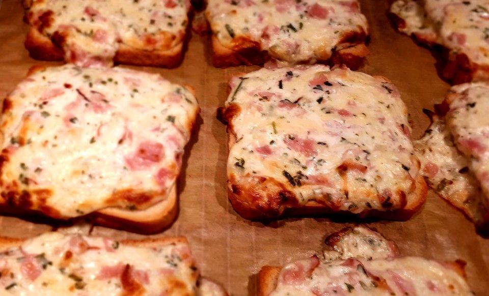 Flammkuchen - Toast   Chefkoch