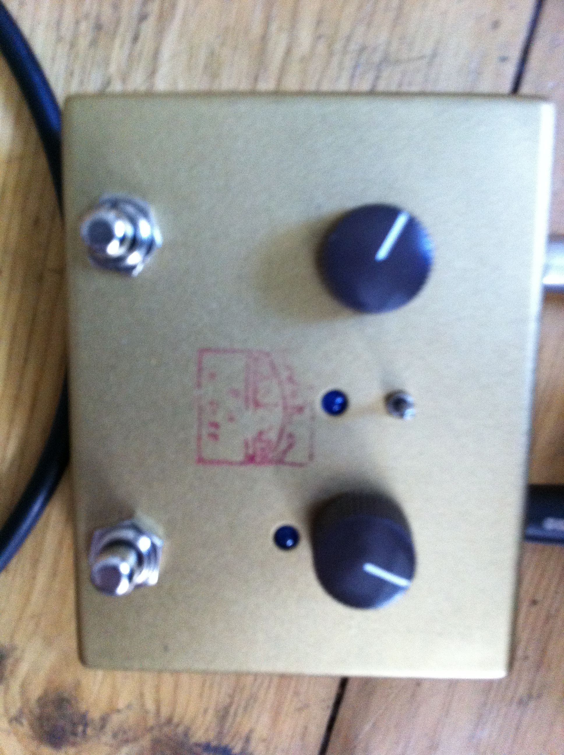 Lovepedal Les Lius overdrive. Did not know what to use it for but was fun none the less.