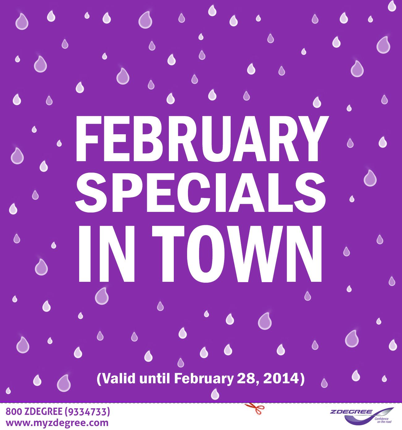Our February Specials! Discounts on Tire & Auto Services