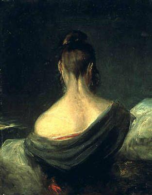 John Constable Tete De Jeune Fille Vue De Dos 1806 Portraits