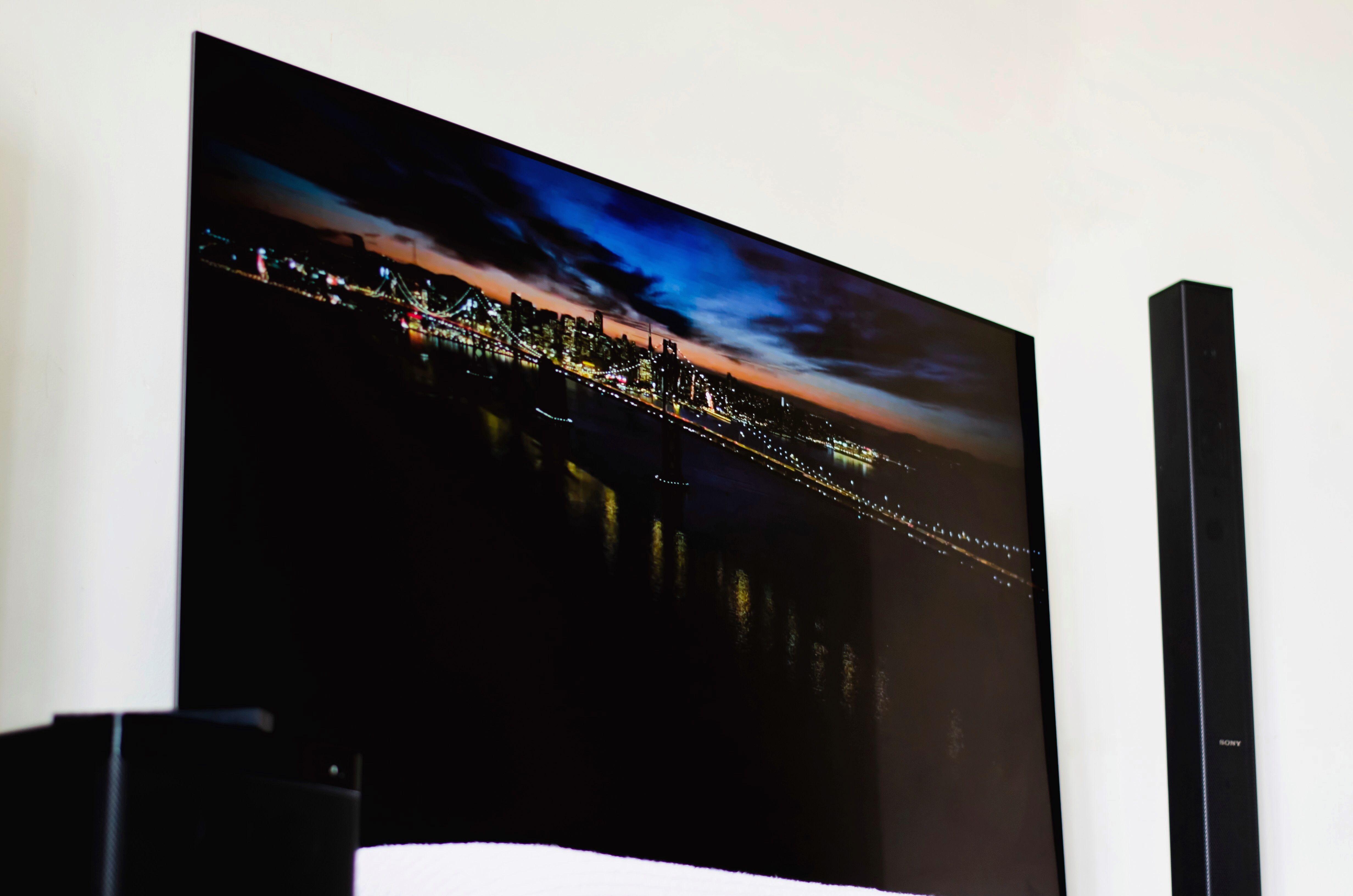Sony A8f Oled Tv Tvs Sony New Technology