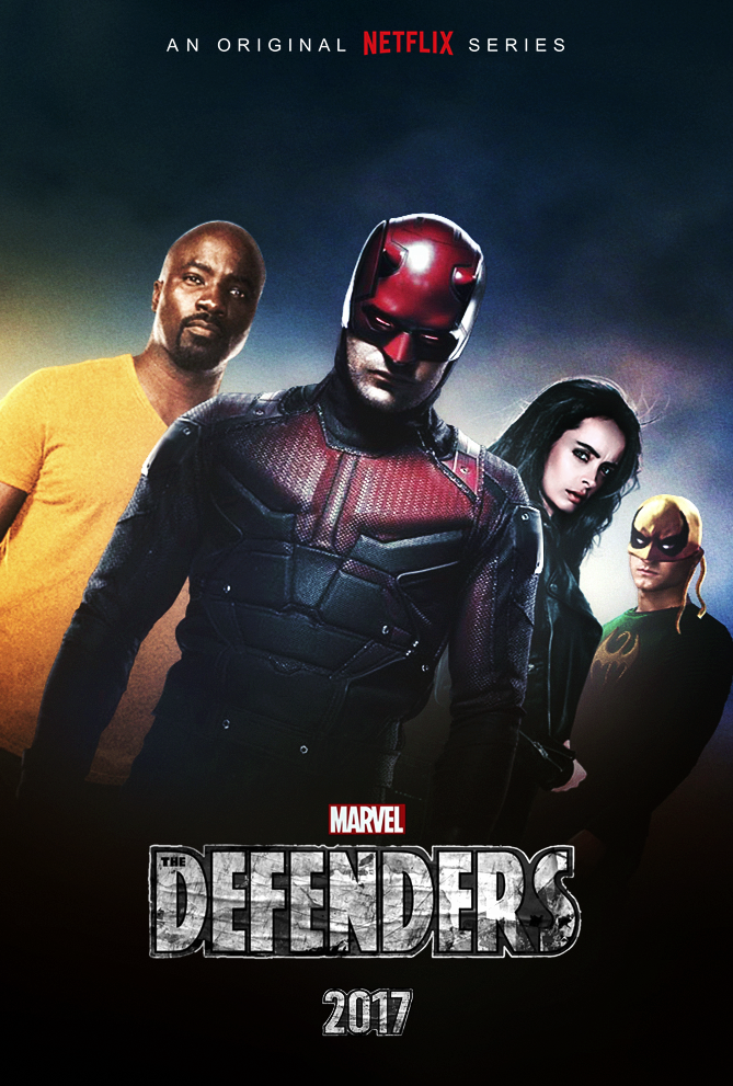 The Defenders (2017) - Teaser Poster by CAMW1N on ...