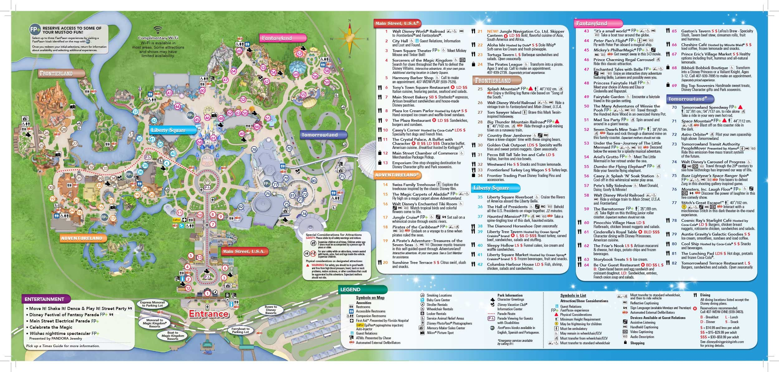 Magic Kingdom Park map: great, when will Disney make it completely ...