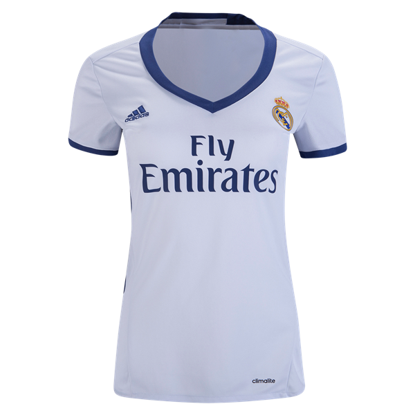 Real Madrid 16 17 Women S Home Soccer Jersey Worldsoccershop Com Worldsoccershop Com Adidas Vetement Vetements Maillot