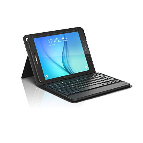 d2a2c806779 ZAGG Messenger Folio Case and Bluetooth Keyboard for Samsung Galaxy Tab 80  Black ** BEST VALUE BUY on Amazon #OfficeProductsDeals