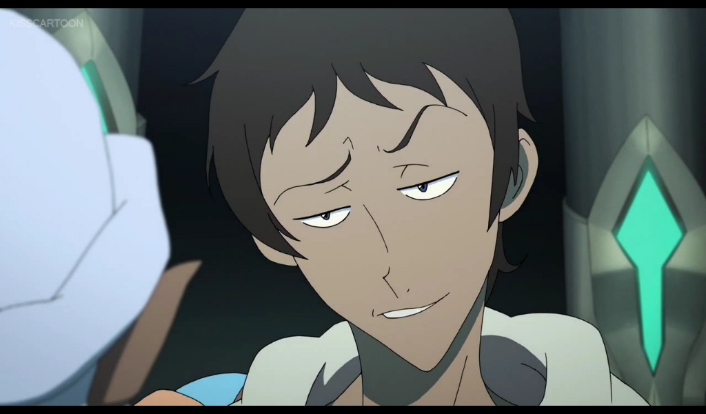 Lance Gave Princess Allura A Sexy Handsome Smile From