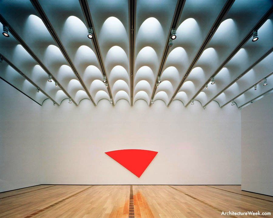 High Museum Of Art Renzo Piano Atlanta Sails Light Scoops