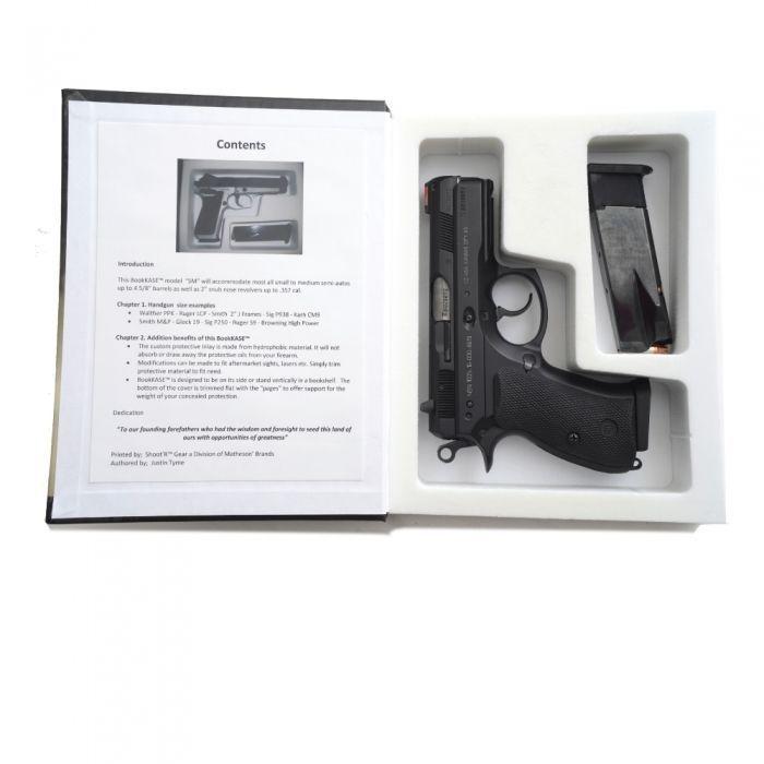 Handgun/Pistol Hidden Secret Compartment Gun Stash Book