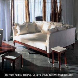Driade Philippe Starck Seating Neoz 3 Seater Deep Sofa Deep