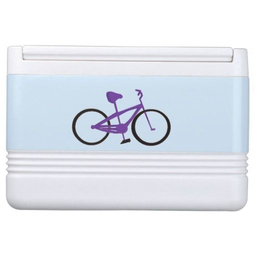 Colorful Bikes Gotta Ride Igloo Can Cooler #biking #cycling #ride #cooler