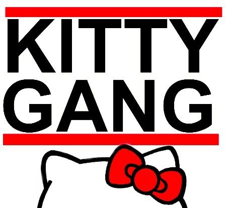 Kitty Gang Hello kitty art, Hello kitty, Hello kitty