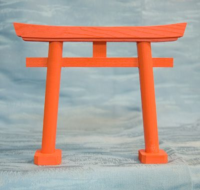 Japanese Shinto Shrine Gate Small Wood Inari Torii Tori Japan