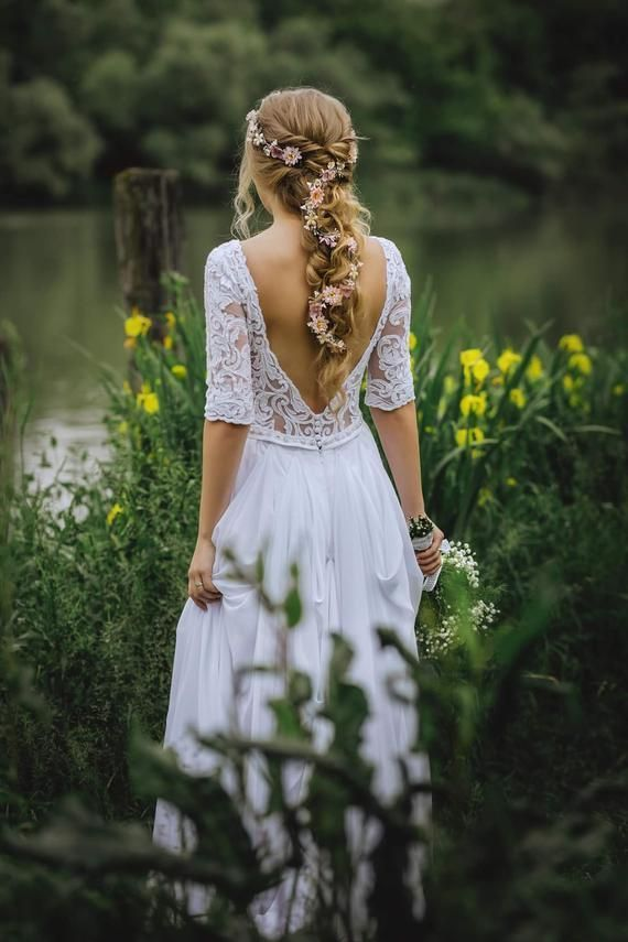 Flower Hair Garland Wedding Hair Flowers Head Wreath Flower Crown Cherry Blossom...   - Boost - #Blossom #Boost #Cherry #crown #FLOWER #Flowers #GARLAND #hair #Wedding #Wreath #flowerheadwreaths
