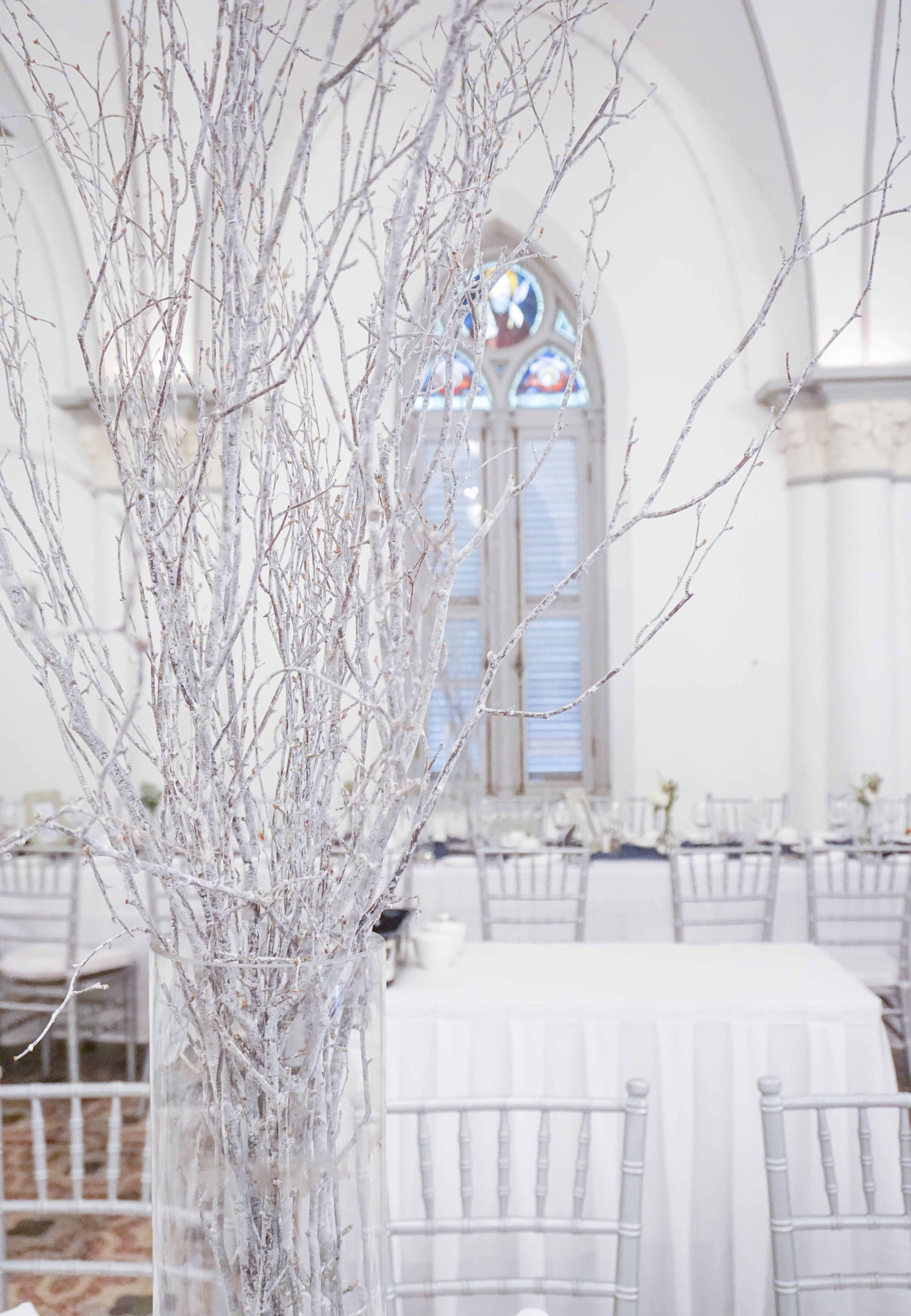 All white wedding in Singapore, Chijmes Hall. All white
