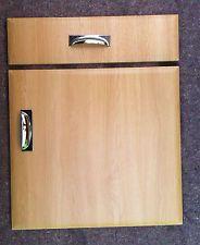 light oak kitchen unit cabinet cupboard doors to fits howdens mfi