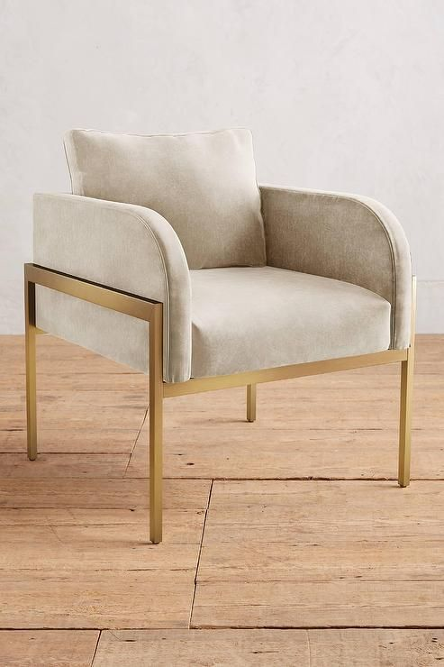 Mod living furniture Mid Century living Room Accent Chair Velvet Beige Brass Mod Chair Pinterest Living Room Accent Chair Velvet Beige Brass Mod Chair Witherby