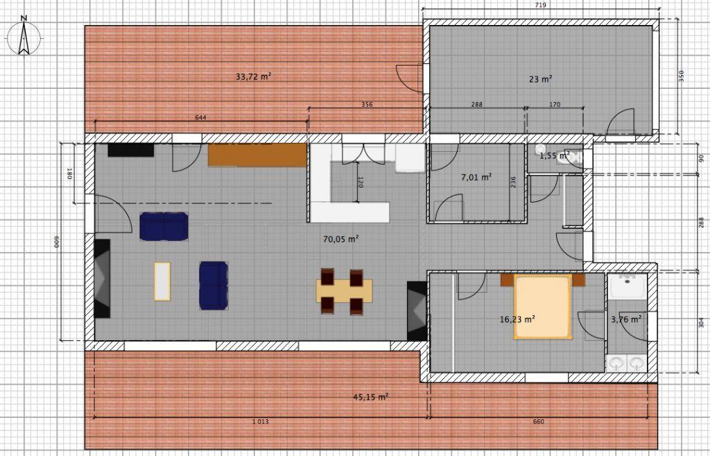 plan maison 160 m2 etage en 2020   Plan maison, Plan de maison familiale, Plan maison bois