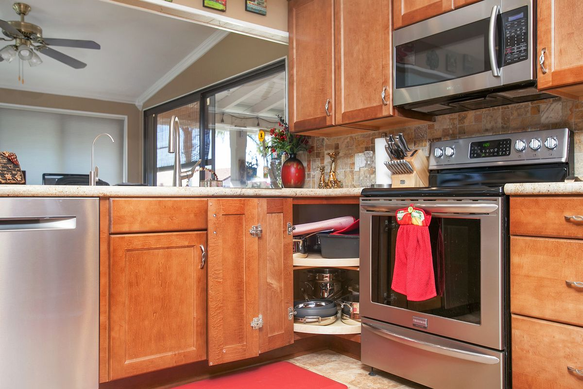 lazy susan in the cabinets kitchen functional design cabinet on kitchen organization lazy susan cabinet id=91044