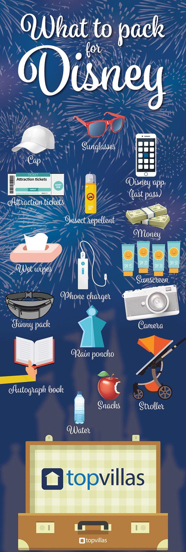 Planning a trip to Disney? Make sure you read our guide, which will help you decide what to pack!