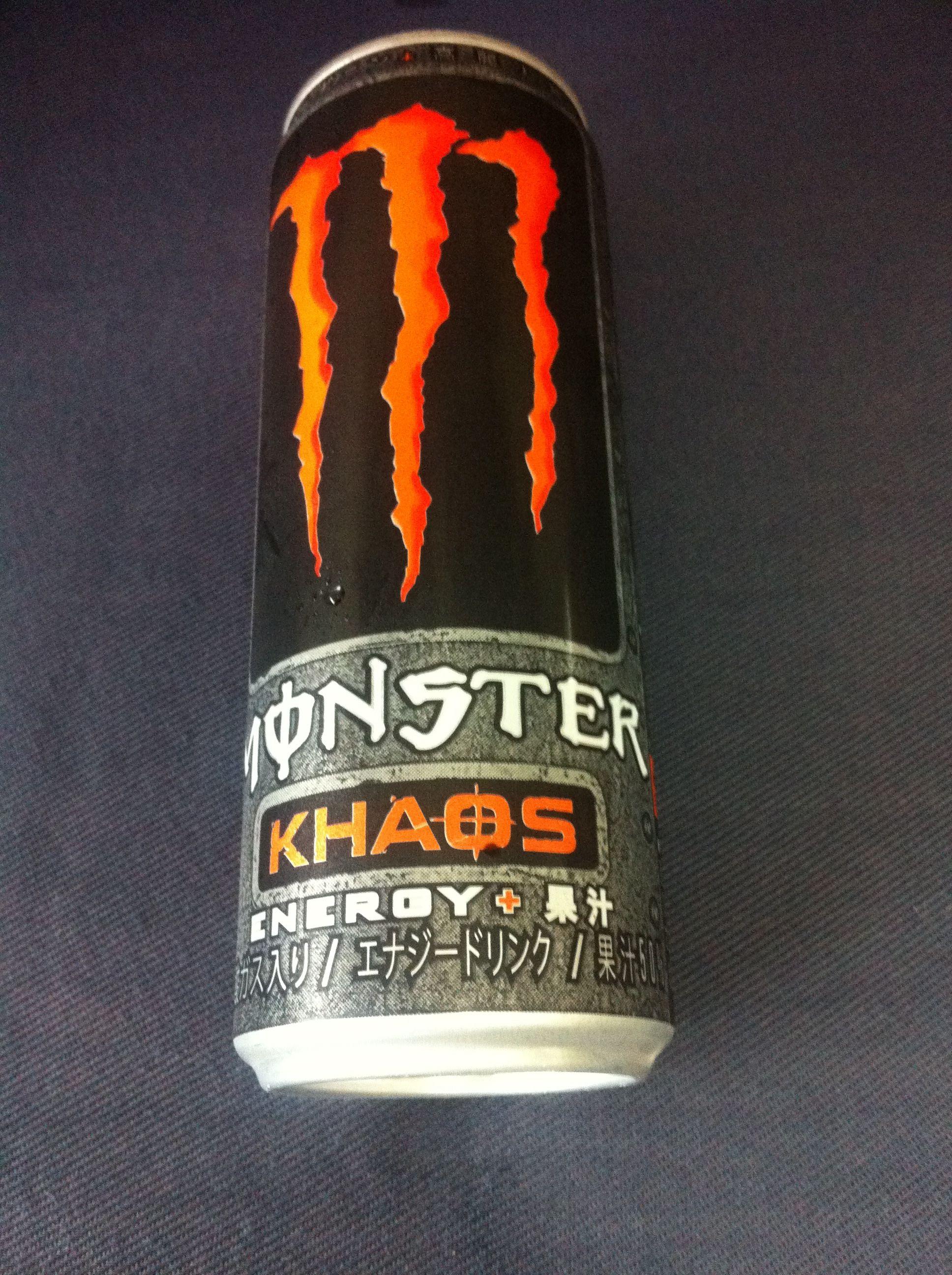 Energy drink monsterkhaos こ゜も羞味しい energy drinks