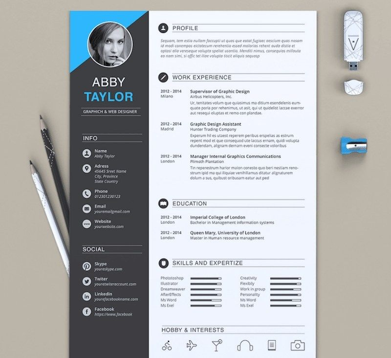 65 Professional Cv Templates For Ms Word That Look Like Downloadable Resume Template Microsoft Word Resume Template Cv Template