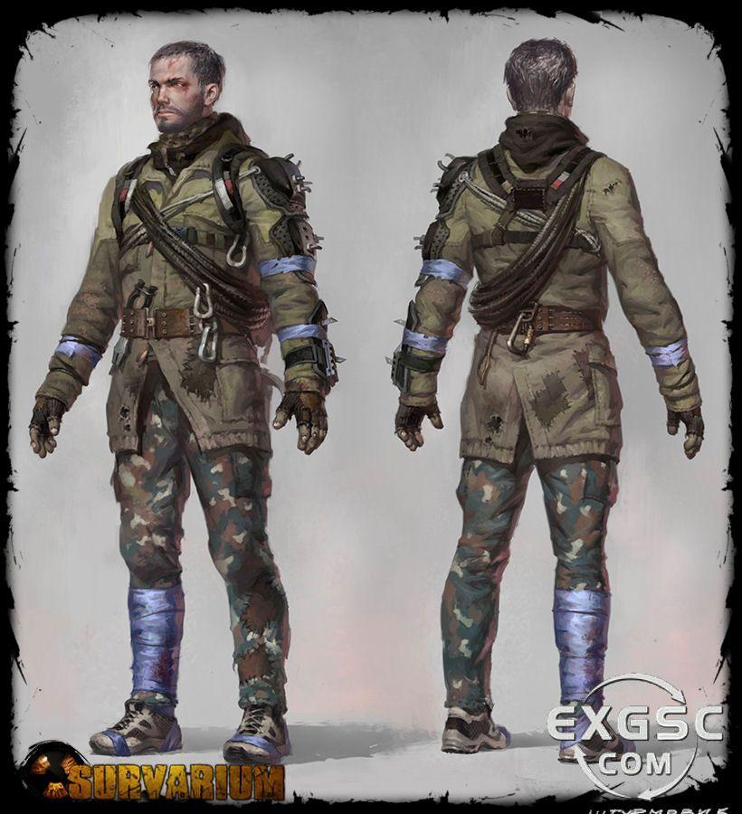 Apocalyptic Soldier Pics: Survarium Concept Art